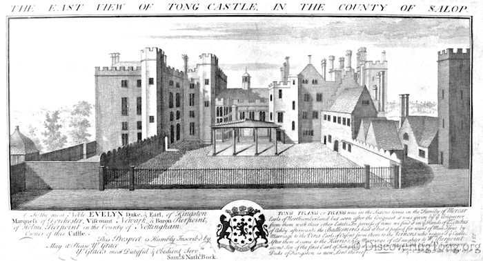 Buck Engraving of Tong Castle