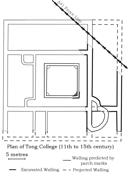The plan of Tong College